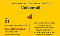 How to set up your Virtual Landline voicemail
