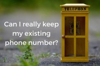 How to keep your existing number with landline porting